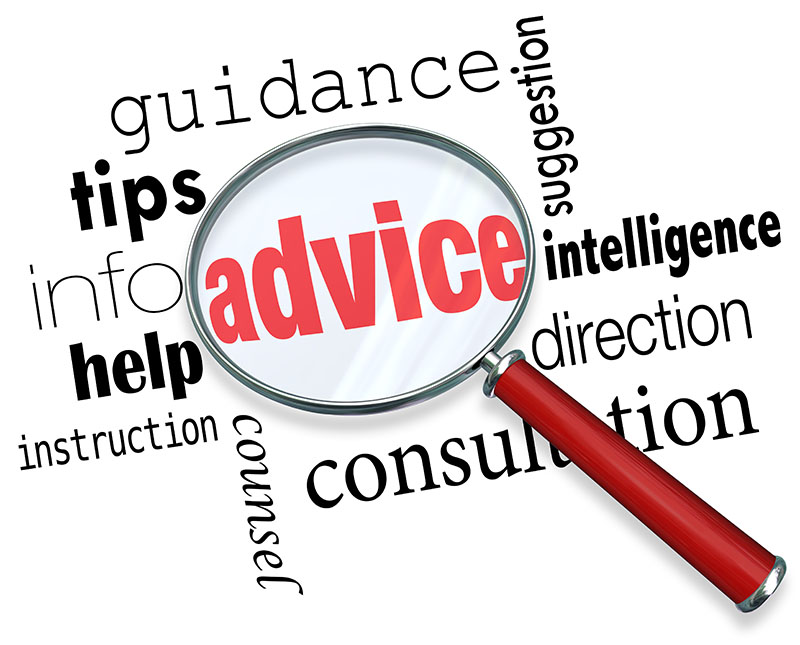 guidance and advice grapic