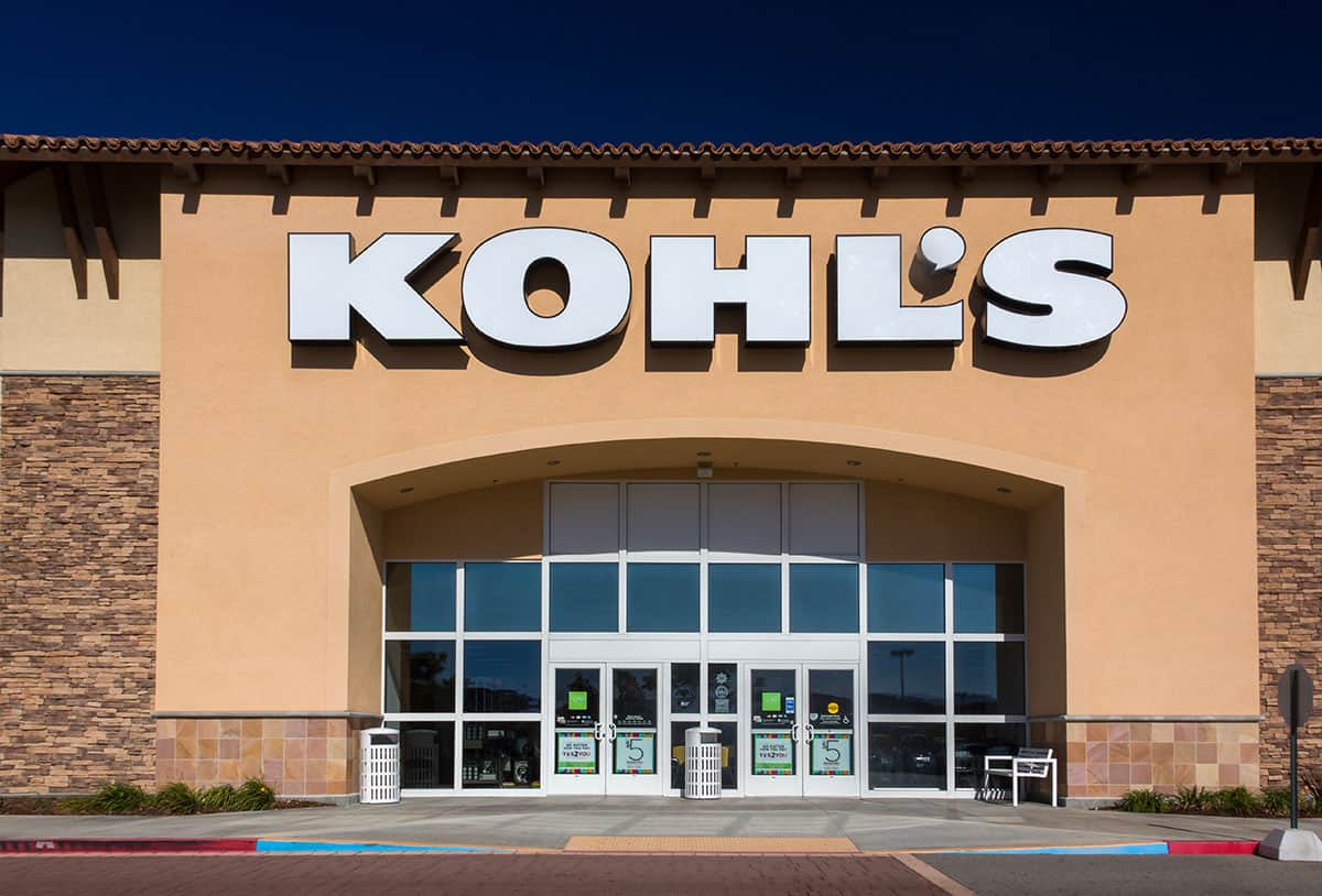 Kohl s Department Store Exterior