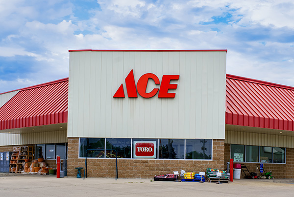 ace hardware store exterior