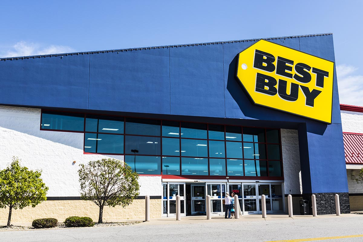 Best Buy Store Front Picture