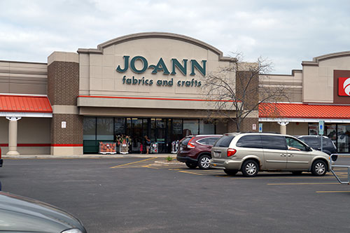 jo ann facrics and crafts storefront