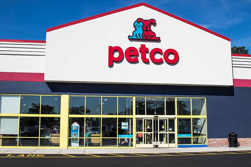 petco store front
