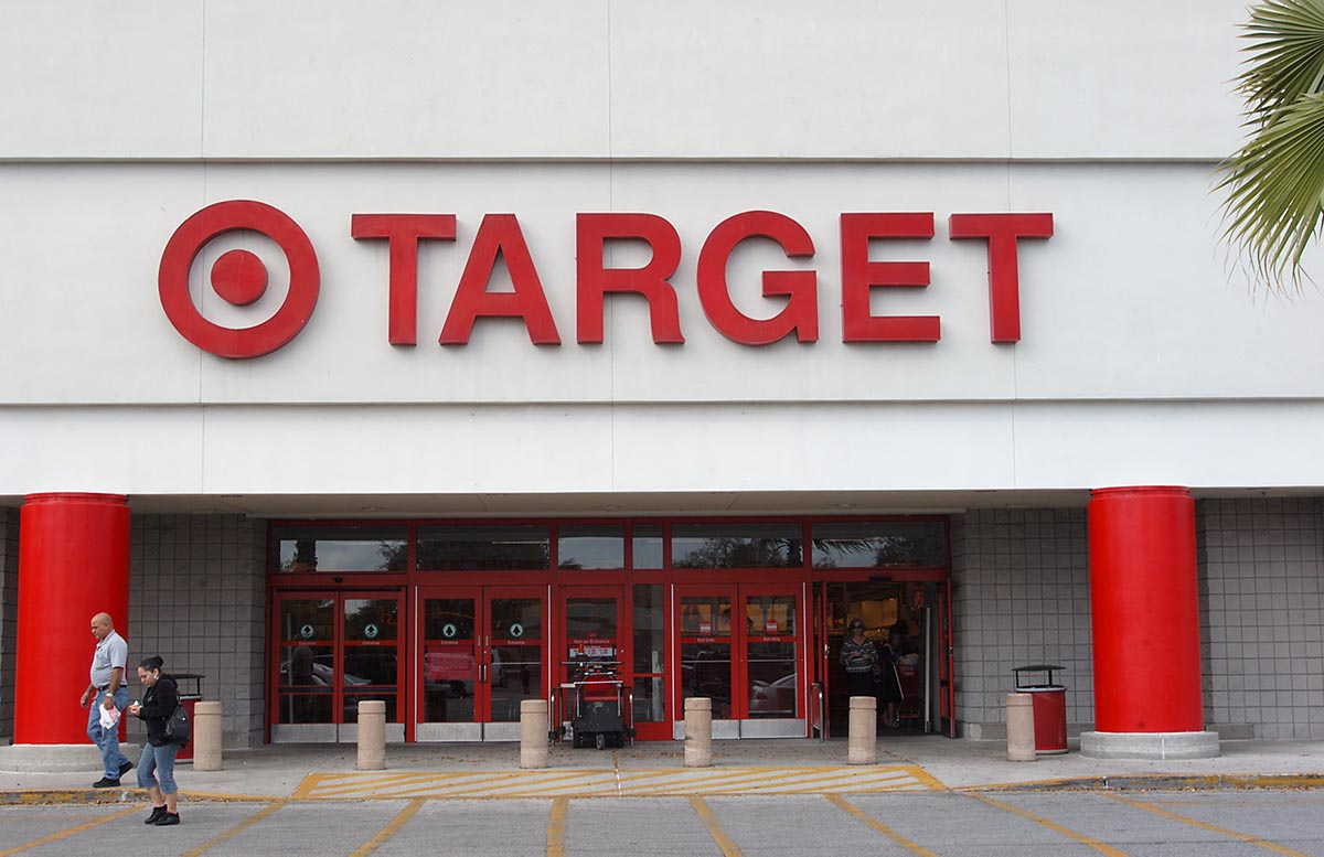 Target retail store front picture